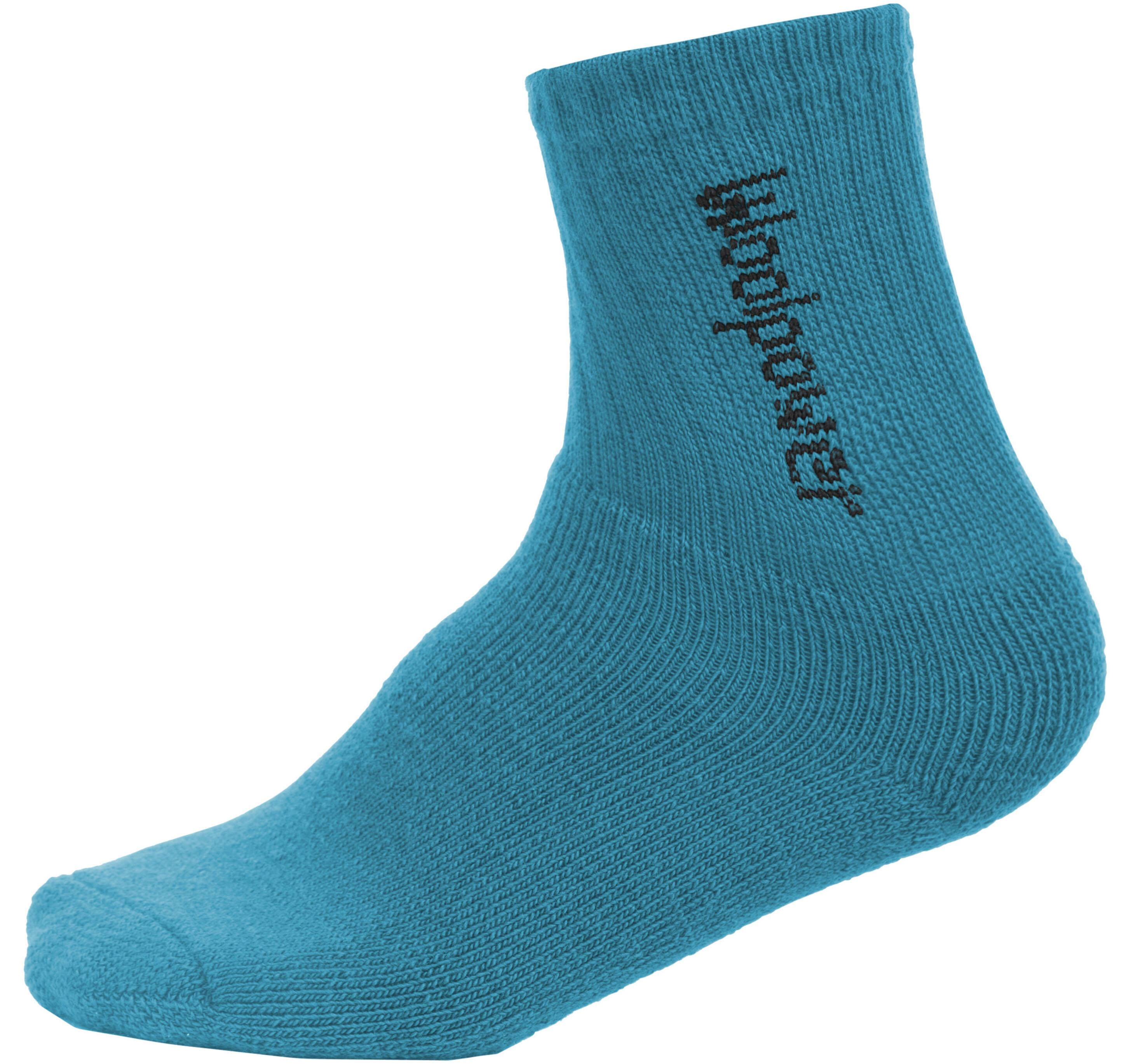Woolpower 400 Classic Logo Calze Bambino blu su Addnature 502e82a47cca